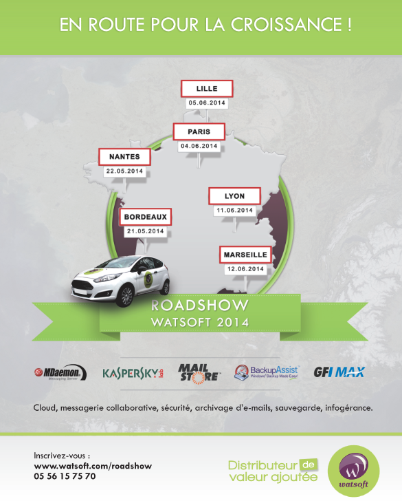 Roadshow Watsoft 2014